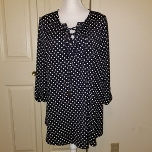 NWT New Directions Top Sz L
